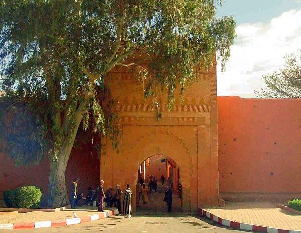 La porte Bab Ksiba à Marrakech