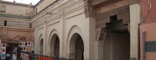 La Fontaine  Mouassine à Marrakech