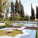 Le jardin Jnan Sbil à Fes