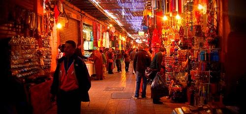Les places et quartiers de Marrakech