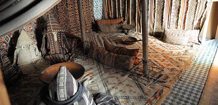 Musée Tiskiwin dans un riad a marrakech