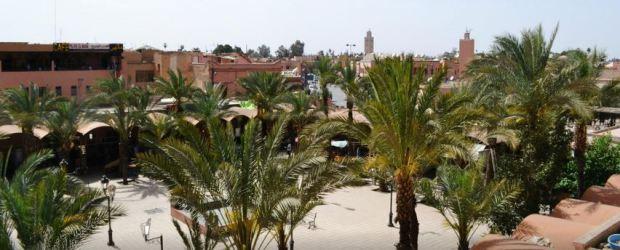 La place des ferblantiers à Marrakech