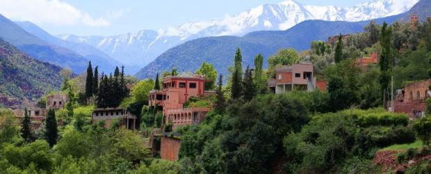 Les sites naturels autour de Marrakech