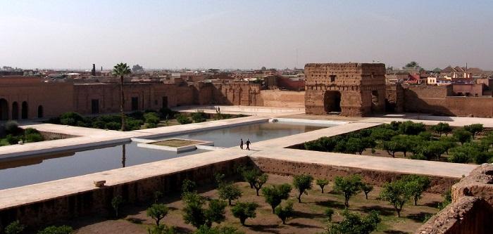 Les ruines du palais el badi