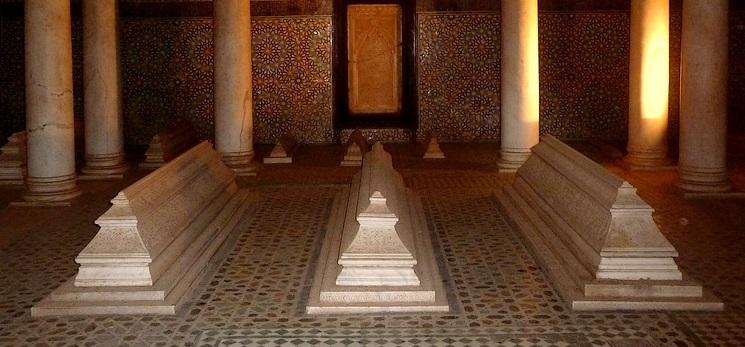 tombeau des saadiens à Marrakech